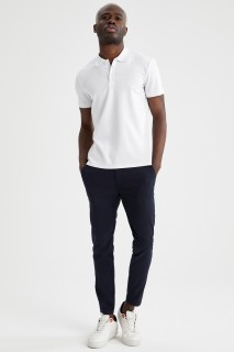 Man Trousers NAVY- 34-30