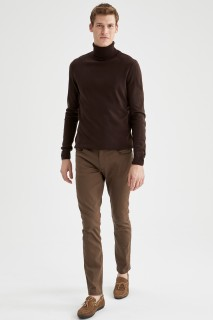 Man Trousers OLIVE- 32-34
