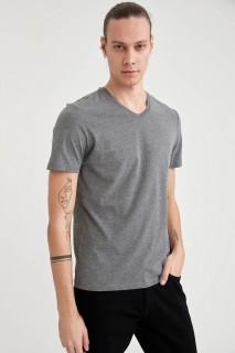 Man's ANTHRA MELANGE T-Shirt-S