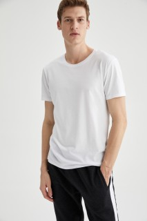Man's WHITE T-Shirt-S