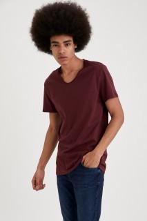 ManT-Shirt BORDEAU