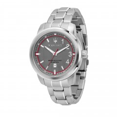 Maserati Gent Royale Date Window Grey Stainless Steel Watch
