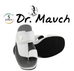 Mens Arabric Sandal Medical Bed 305 Deer Leather White