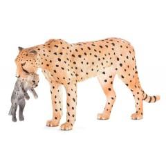 Mojo Fun Cheetah Female With Cub