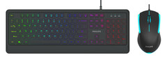 PHILIPS SPT8274Mouse + Keyboard Combo -87 12581 76379 4