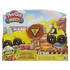 Playdoh Playdoh Excavator N Loader