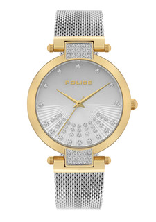 Police Alcanar Watch For Women Silver Dial P15567LSG-04MMS