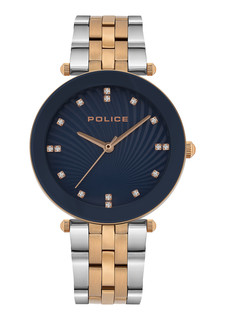 Police Chiba Watch For Women Blue Dial P15569MSR-03MTR