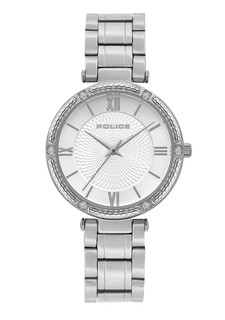 Police Chiba Watch for Women Silver Dial P15568BS-04M