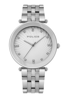 Police Chiba Watch for Women Silver Dial P15569MS-04M
