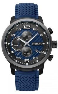 Police Gent BLUE RSTR  P 15657JSBU-03P