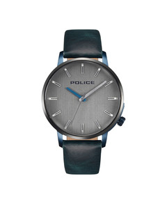 Police Marmol Men'S Watch Grey dial Blue Strap Watch P15923JSBLU-13