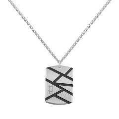 Police Metallic Pendant Necklace For Men