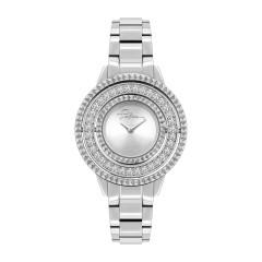 Police Pilat Women Silver Quartz Analog Watch
