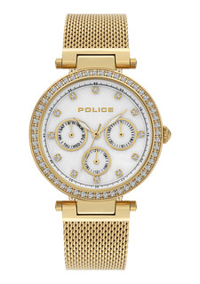 POLICE Qurem Watch For Women White Dial P15891MYG-28MM