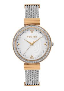 Police Yakima Women's Watch Silver P 15575BSTR-04M