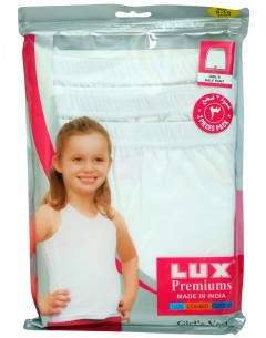 Premium Girls Boxer Pack Of 3: 3-4Yrs