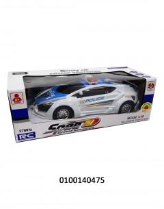 """R/C POLICE CAR WB 10.94"""" 388-21 6464650175602"""