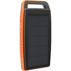 RAVPOWER 15000Mah Outdoor Solar Power Bank Orange+Black Rp-Pb003