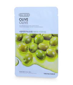 Real Nature Mask Sheet Olive