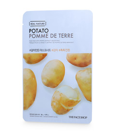 Real Nature Mask Sheet Snow Potato