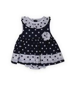 SARDON kids Designer Dress - 6-12mths - Blue