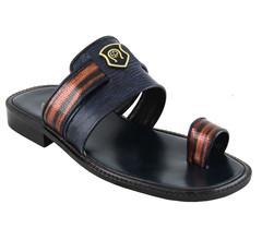 Shoe Palace Men Slippers V3326 Navy Blue