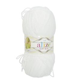 Silk Effect Craft White