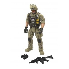 Silverlit Chapmei Soldier Force 9 Meg Voice Ranger Figure