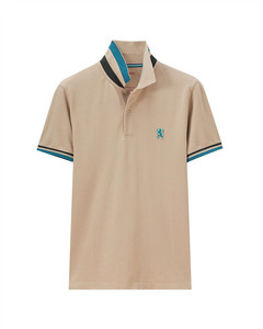 Small Lion Embroidery Polo  M
