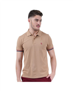 Small Lion Embroidery Polo  S