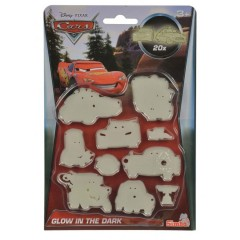 Smoby Simba - Cars Glow In The Deark Set