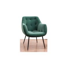 Sofa Arm Chair Lsr16091, Dark Green