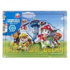 Spin Master Puzzle Paw Patrol Wood Chunky Inlay