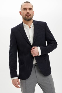 Striped Slim Fit Blazer Jacket 8698335449735 - 54