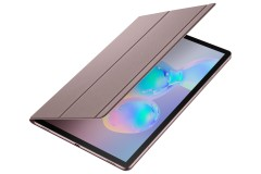Tab S6 Book Cover Brown