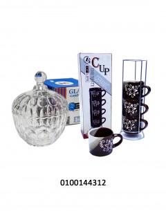 Tea Cup Set + Candy Jar