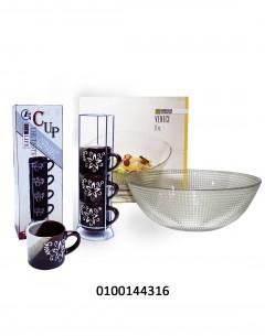 Tea Cup + Venice Bowl