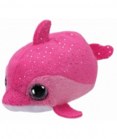 Teeny Tys Dolphin Floater Pink 2In S4