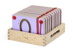 Viga Magnetic Writing Board Number 10pcs Set