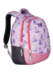 Wiki J1 School B/Pack Sailor 14In Purple