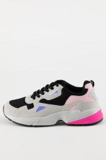 Woman BLACK Sport Shoes- 38