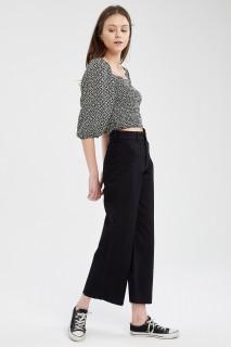 Woman BLACK Trousers-44
