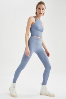 Woman BLUE Trousers-M/L