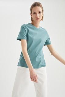 Woman D.MINT Short Sleeve T-Shirt-M