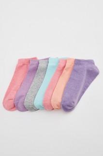 Woman FUCHSIA Low Cut Socks