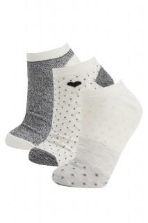 Woman GRIMELANJ-820-13 Low Cut Socks