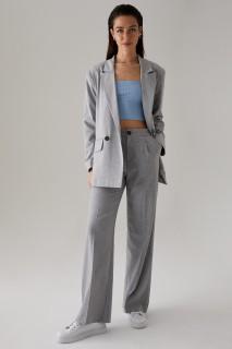 Woman GRIMELANJ-820-13 Trousers-36