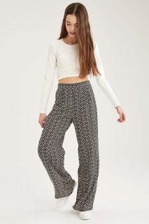 Woman Khaki Trousers-34