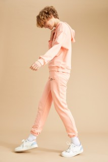Woman Knitted Trousers PINK- XS